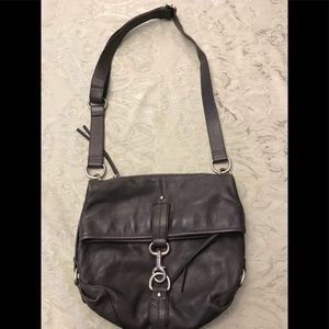Banana Republic Grey Cross Body Bag